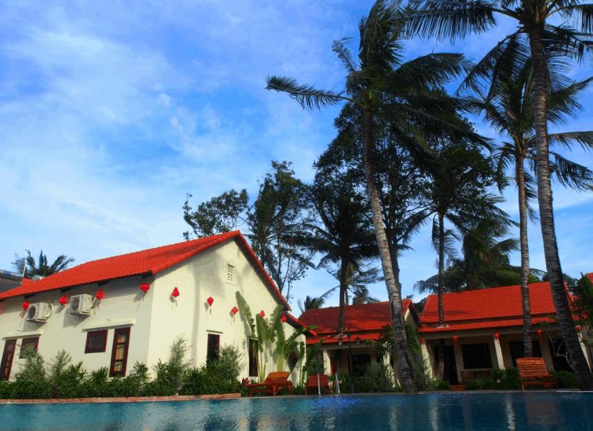 Nhà nghỉ tại Hula Hula Beachfront có lối kiến trúc giản dị