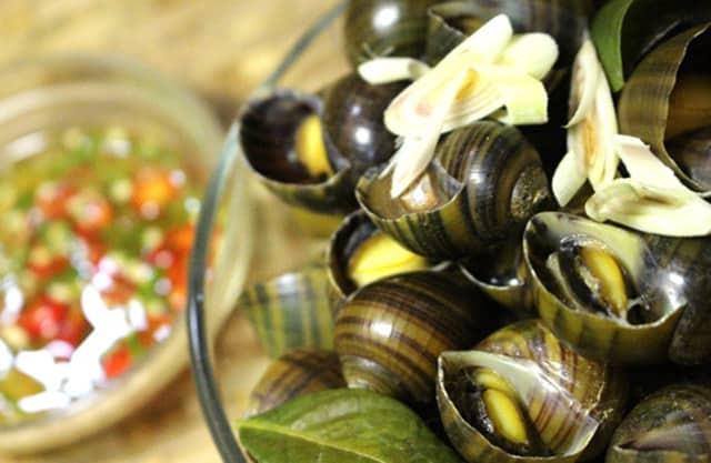 Ốc biển có hương vị thơm ngon khác hoàn toàn với ốc ở sông hồ (Ảnh ST)