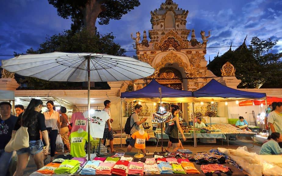 Phố đi bộ ở Chiang Mai (Ảnh ST)