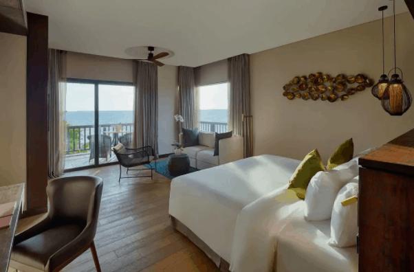Phòng nghỉ tại Nam Nghi có view hướng biển tuyệt đẹp