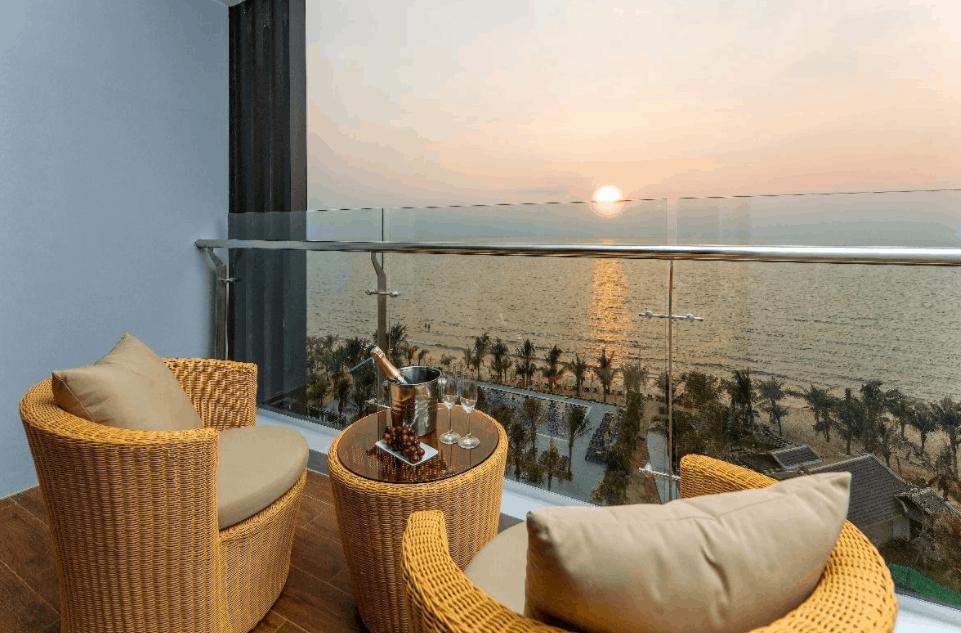 Phòng nghỉ view hướng biển tuyệt đẹp tại khách sạn Amarin