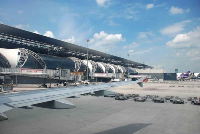 Sân bay Suvarnabhumi (ẢNH ST)