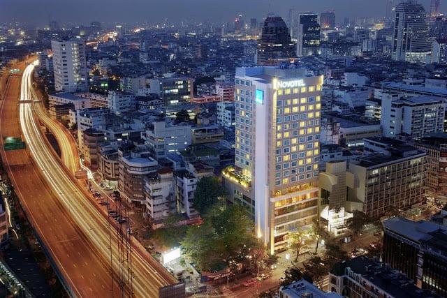 Khu vực Silom Bangkok (ẢNH ST)