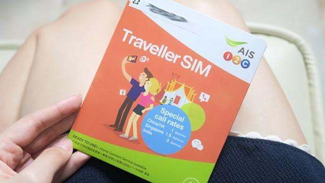 Đi du lịch Thái Lan tự túc thì bạn nên mua sim điện thoại để chủ động nhé (ẢNH ST)