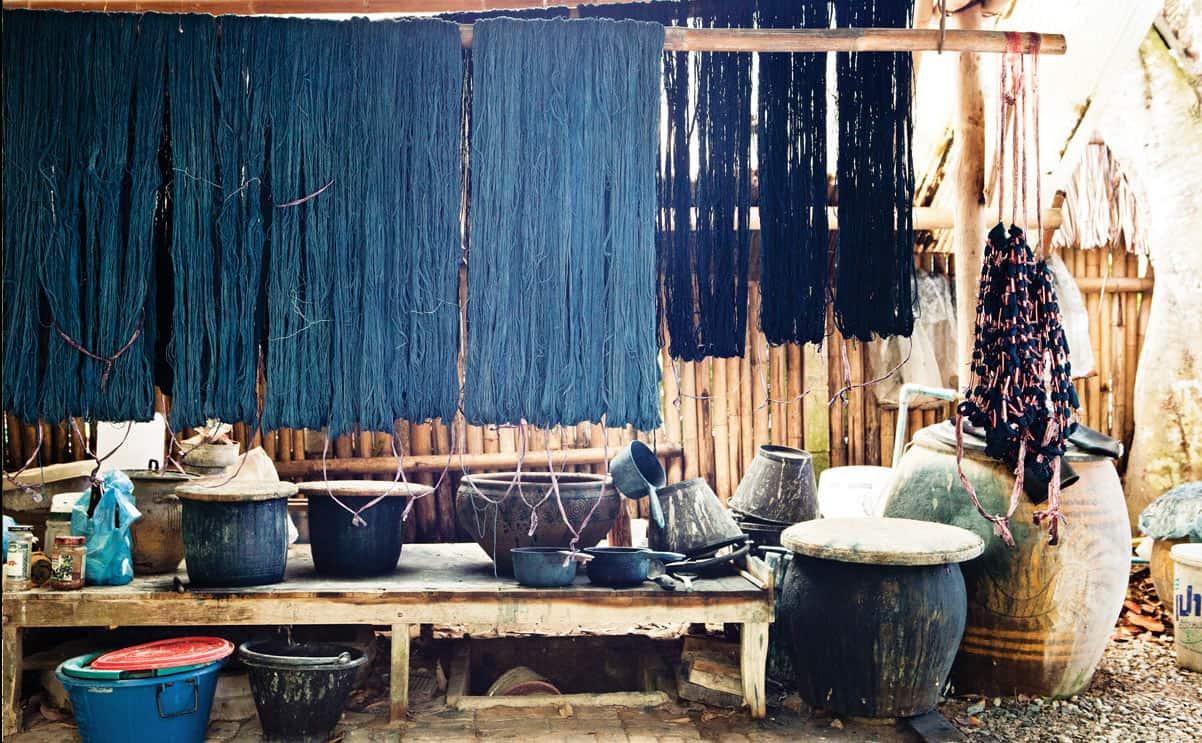 Studio Naenna nơi tạo ra những loại vải chất lượng độc đáo (Ảnh ST)