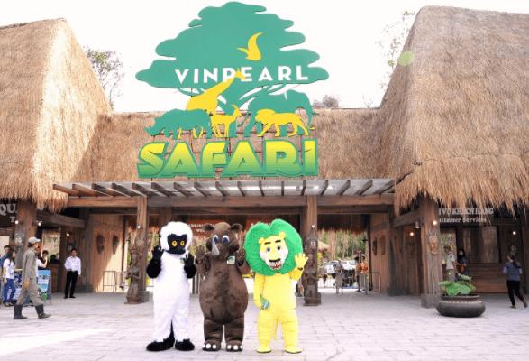 Tham quan vườn thú Vinpearl Safari Phu Quoc
