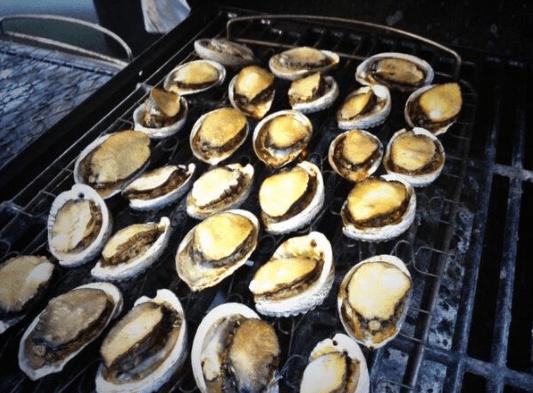 Thưởng thức bào ngư nướng hấp dẫn tại Phú Quốc