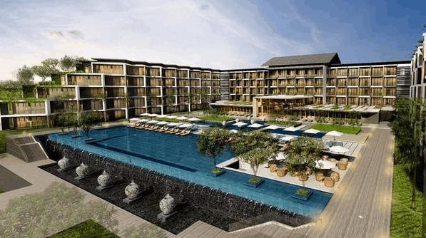Toàn cảnh khách sạn Novotel Phú Quốc