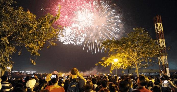 Trà Vinh tổ chức bắn pháo hoa ngày Tết