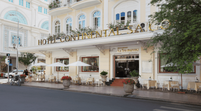 """Khách sạn continental được công nhận Di tích """"Kiến Trúc Nghệ Thuật""""."""