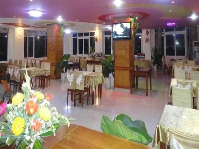 Nhà hàng của khách sạn (Ảnh ST)