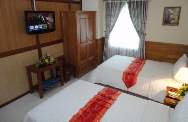 Phòng nghỉ ở đây được bài trí đơn giản, tiện nghi (Ảnh ST)