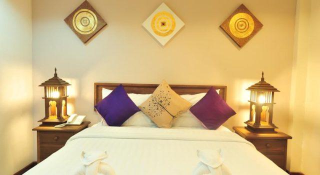 Không gian ấm cúng trong phòng khách sạn (Ảnh ST)