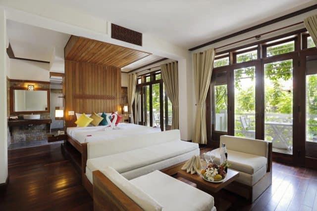 Phòng nghỉ đơn giản tinh tế (Ảnh ST)