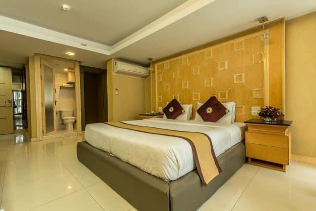 Phòng nghỉ khách sạn được trang bị đầy đủ tiện nghi (Ảnh ST)