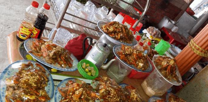 Thưởng thức ẩm thực vùng biển Thạnh Phú