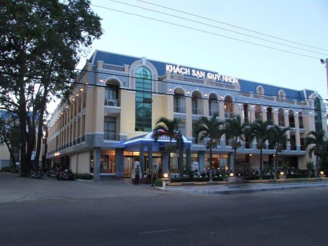 Khách sạn Quy Nhơn đường Nguyễn Huệ (Ảnh ST)