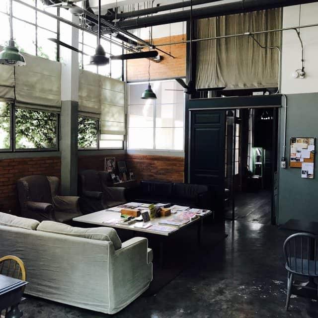 Không gian được thiết kế trẻ trung tại Oneday hostel (Ảnh ST)