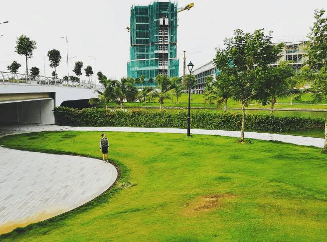 công viên ở sài gòn