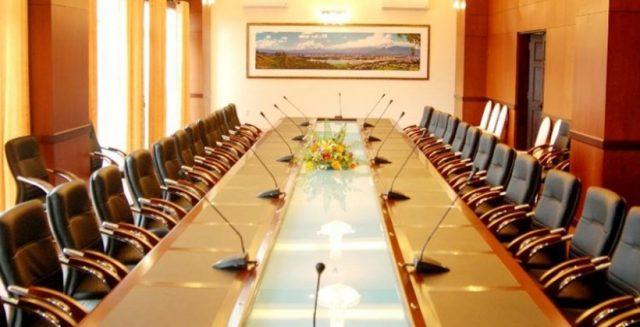 Phòng họp, hội nghị bên trong khách sạn (Ảnh ST)