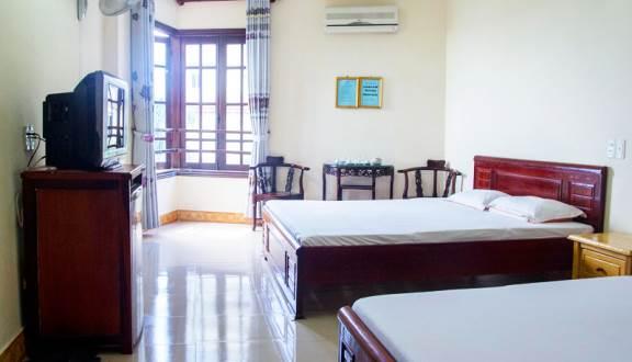 Phòng nghỉ tại homestay Thắm Trang (Ảnh ST)