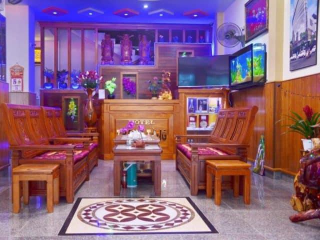Sảnh tiếp khách của Thanh Tùng Hotel (Ảnh ST)