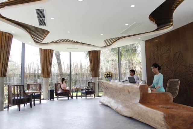 Sảnh tiếp khách trong khách sạn (Ảnh ST)