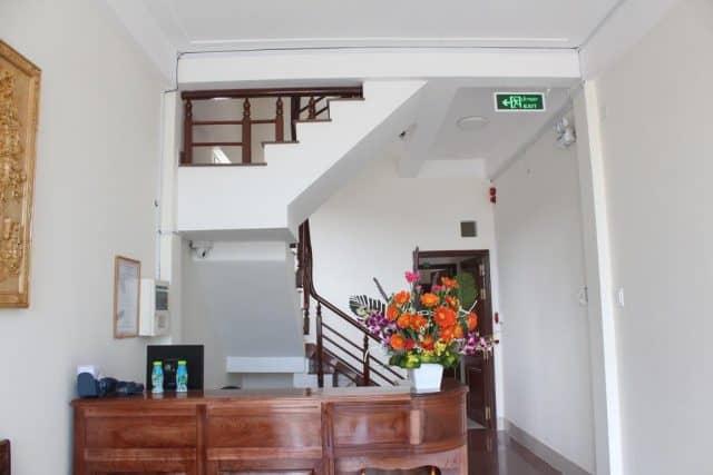Sảnh tiếp khách của Hostel (Ảnh ST)