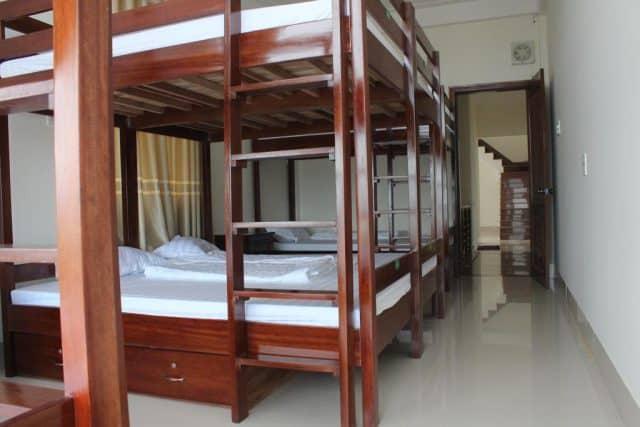 Phòng ngủ chung tại Heaven Hostel (Ảnh ST)