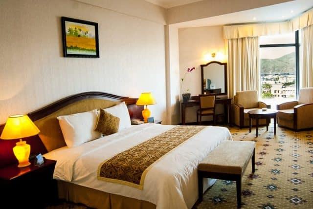 Phòng nghỉ với màu sắc trang nhã, hiện đại (Ảnh ST)