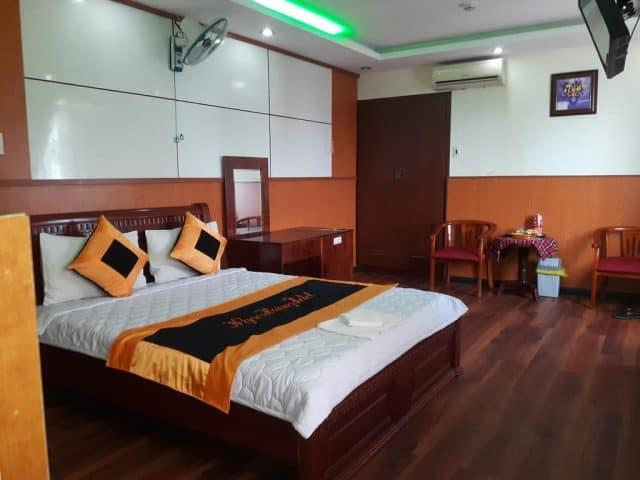 Phòng nghỉ được thiết kế hài hòa, trang nhã (Ảnh ST)