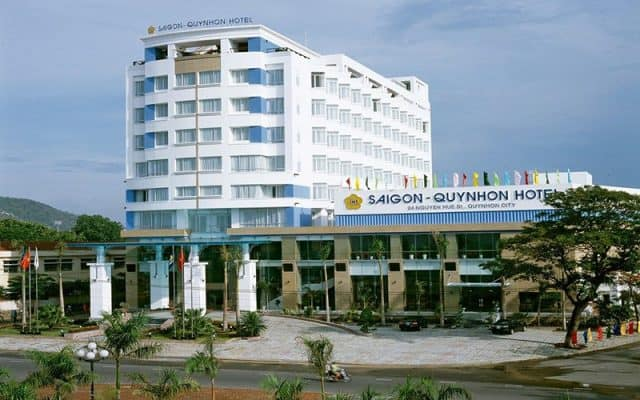 Toàn cảnh khách sạn Sài Gòn-Quy Nhơn (Ảnh ST)