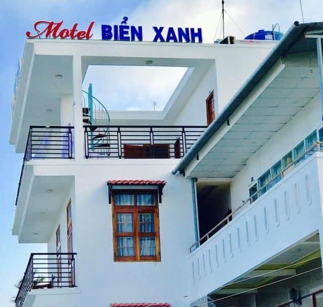 Nhà nghỉ Biển Xanh (Ảnh ST)