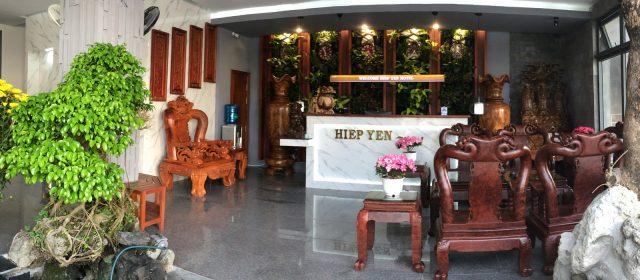 Sảnh khách sạn Hiệp Yến (Ảnh ST)