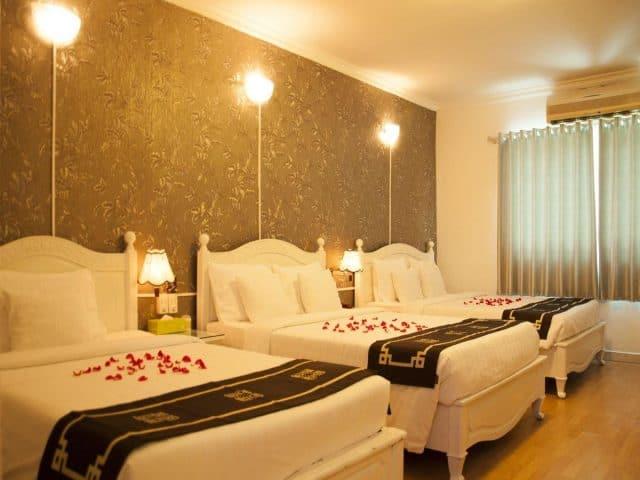 Phòng nghỉ của Tây Nguyên - khách sạn Kon Tum (Ảnh ST)