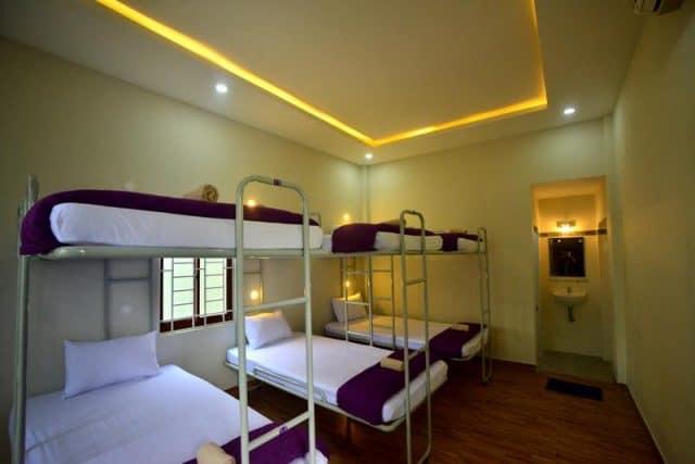 Phòng nghỉ tại Hostel (Ảnh ST)
