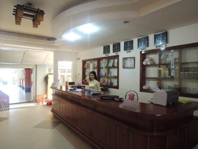 Sảnh tiếp khách tại khách sạn Đồng Khánh (Ảnh ST)