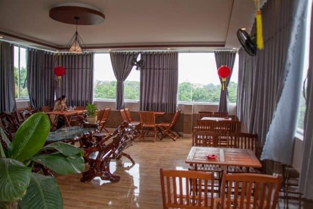 Nhà hàng trong khách sạn Thành Thu (Ảnh ST)