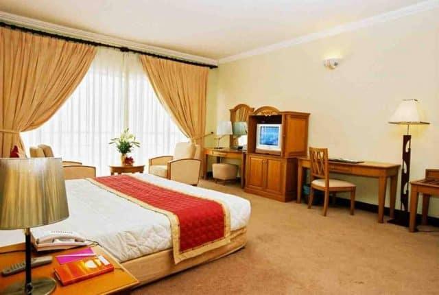 Phòng khách sạn với đầy đủ tiện nghi (Ảnh ST)