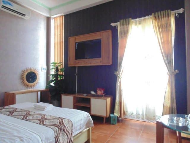 Phòng nghỉ được trang trí khá đẹp (Ảnh ST)