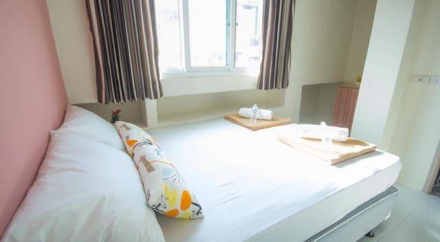 Hostel có phòng riêng phục vụ các cặp đôi (Ảnh ST)