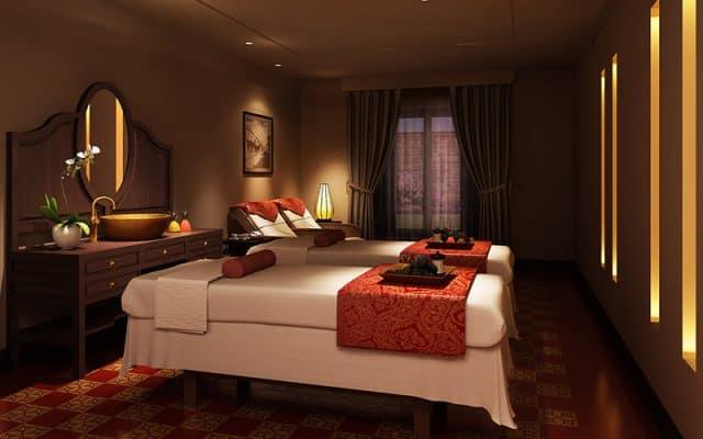 Khu chăm sóc spa, massage tinh tế (Ảnh ST)