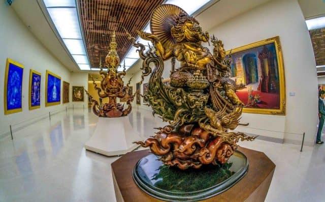 Bảo tàng MOCA được xây dựng năm 2012, là nơi trưng bày về cuộc sống, văn hóa và con người của đất nước Thái Lan qua các bức tranh vẽ (Ảnh ST)