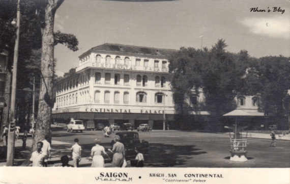 Khách sạn Continental thời Pháp thuộc