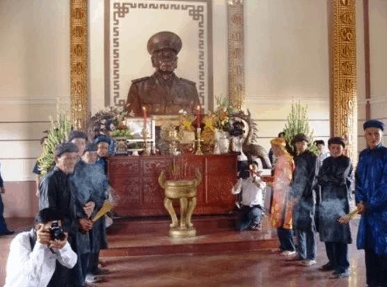 Lễ đón nhận di tích Đền thờ Trung tướng Đồng Văn Cống