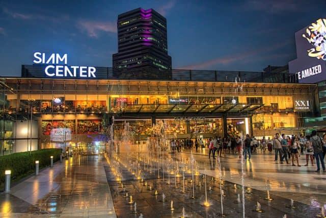 Khu trung tâm thương mại Siam là trung tâm thương mại lớn nhất của Thái Lan với nhiều điểm vui chơi hấp dẫn (Ảnh ST)