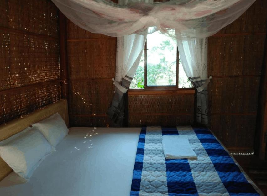Thiết kế phòng nghỉ tại Quốc Phương Riverside giản dị, đơn sơ