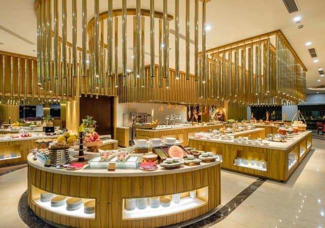 Nhà hàng sang trọng với những món ăn Âu - Á kết hợp (Ảnh ST)