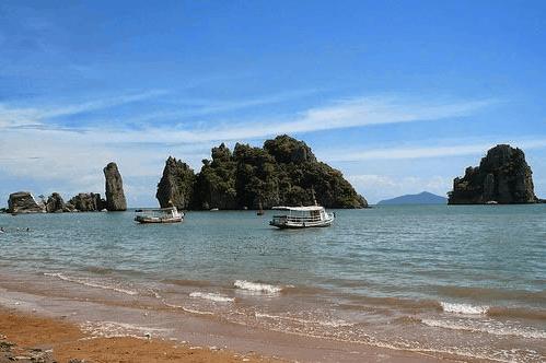 Vẻ đẹp bãi Dương Hà Tiên