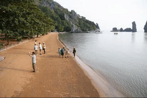 Bãi Dương ngày càng hấp dẫn du khách